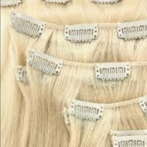 Accessories - Hair extensions long blonde brown black u choose